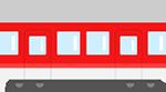 電車(筑豊電鉄黒崎駅より)